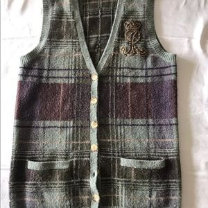 Vintage Ralph Lauren Knitted Vest. Size Small.